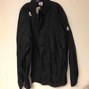 Adidas raincoat Mens black